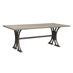 Varron Wood Top Dining Table by Caribou Dane