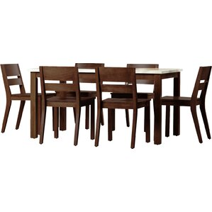 Losey 7 Piece Dining Set by Brayden Studio