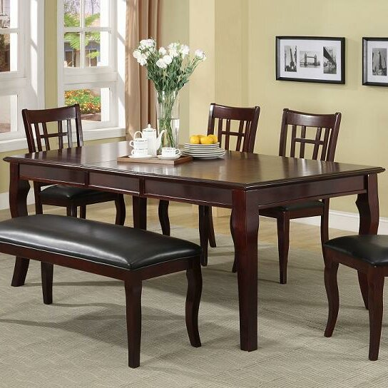 Red Barrel Studio Hawk Haven Extendable Dining Table