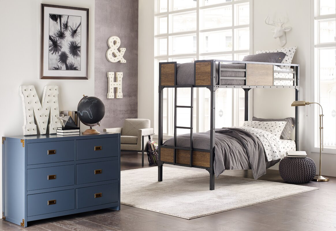 Modern Rustic Kids Bedroom Design Photo By Greyleigh