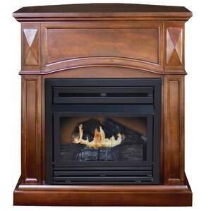 Belmont Compact Freestanding Gas Fireplace by KozyWorld