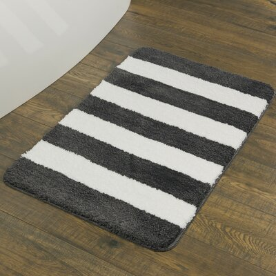 Grey Amp Silver Shower Amp Bath Mats You Ll Love Wayfair Co Uk