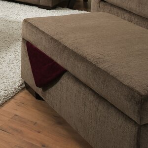 Du Bois Storage Ottoman by Simmons Upholstery