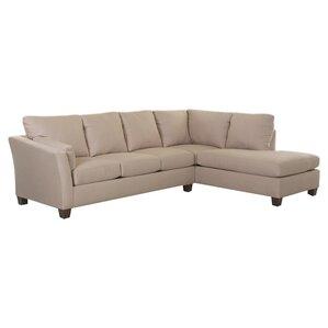 Scottie Right-Facing Sectional  sc 1 st  Wayfair : low profile sectional sofas - Sectionals, Sofas & Couches