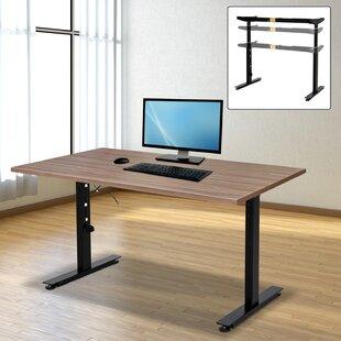 Carissa Steel Ergonomic Electric Height Adjustable Standing Desk