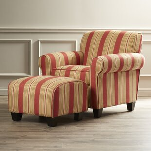 Merveilleux Red Chair And Ottoman | Wayfair