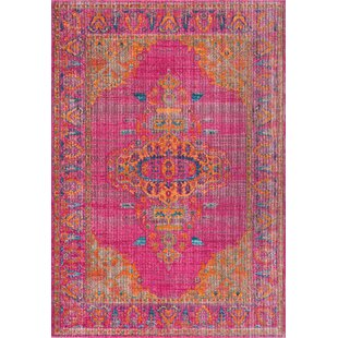 New City Pink Area Rug