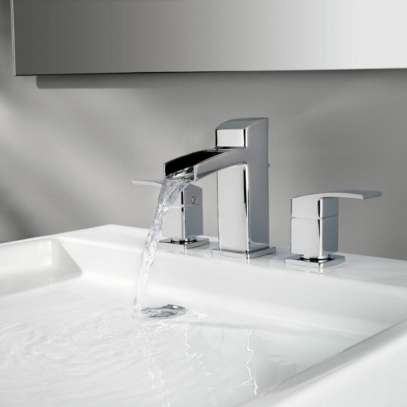 Pfister Kenzo Widespread Waterfall Faucet & Reviews | Wayfair