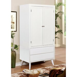 Rutland Polick Transitional Armoire by George Oliver