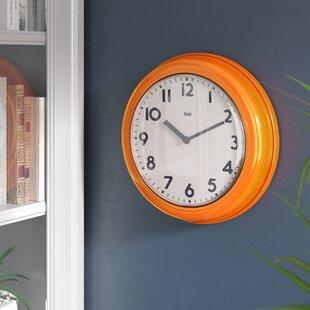 Old School Wall Clock | Wayfair