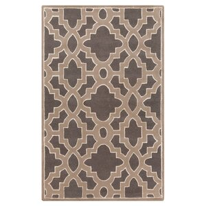 Modern Classics Charcoal/Light Brown Area Rug