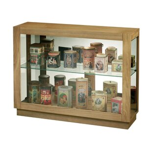 Huang Lighted Curio Cabinet 2019 Online