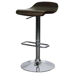 Byrd Adjustable Height Bar Stool (Set of 2) by New Pacific Direct