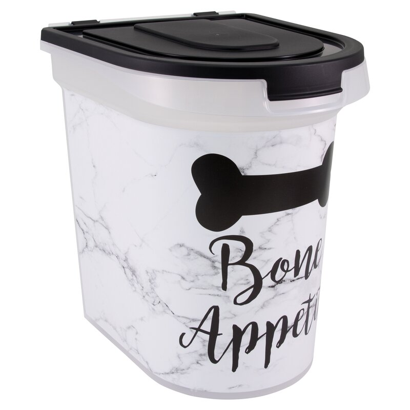 Falmouth Marble Bone Appetit 26 Oz  Food Storage Container