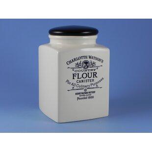 Charlotte Watson Flour Jar