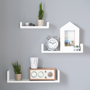 Sheila 3 Piece Floating Shelf Set