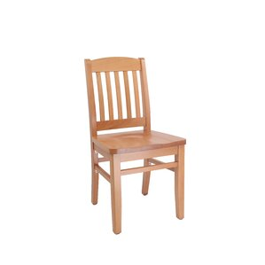 Bulldog Solid Wood Dining Chair by JUSTCHAIR