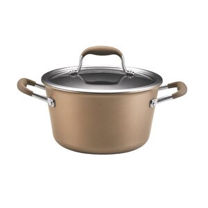 Advanced 4.5-qt. Tapered Stock Pot with Lid