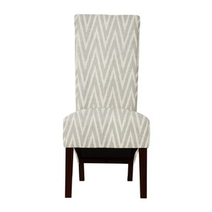 Keyesport Chevron Parsons Chair (Set of 2) by Red Barrel Studio