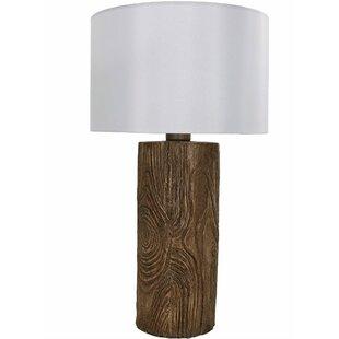 Nature inspired lighting Bamboo Penton Natureinspired Log Polyresin 26 Wayfair Nature Inspired Lamps Wayfair