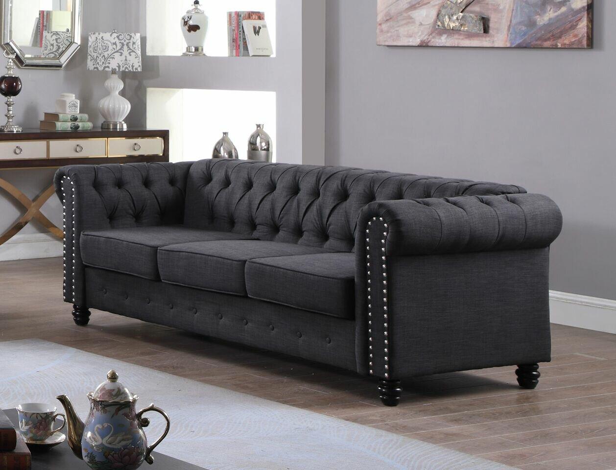 Sensational Altman Fabric Modern Living Room Sofa Best Image Libraries Thycampuscom
