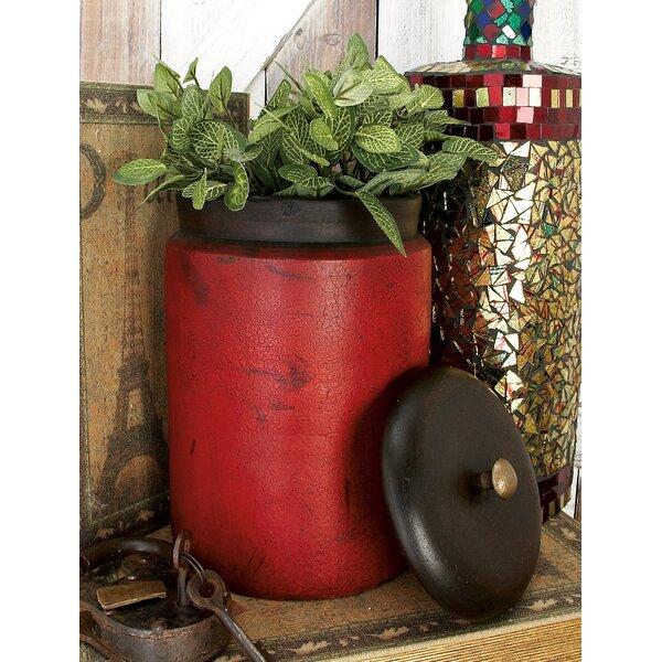 Cole grey terracotta 3 piece decorative jar set for Decor containers coles