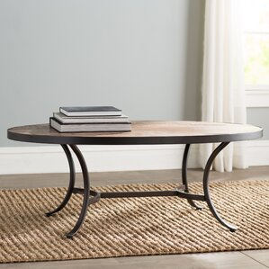 Ceres Oval Coffee Table by Mercury Row