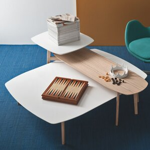 Match Double Top Coffee Table by Calligaris