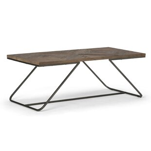 Industrial Rectangle Coffee Tables Youll Love Wayfair - Wayfair industrial coffee table