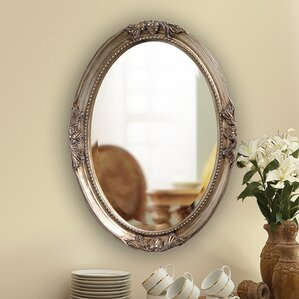 Wood Wall Mirror gray wall mirrors you'll love | wayfair