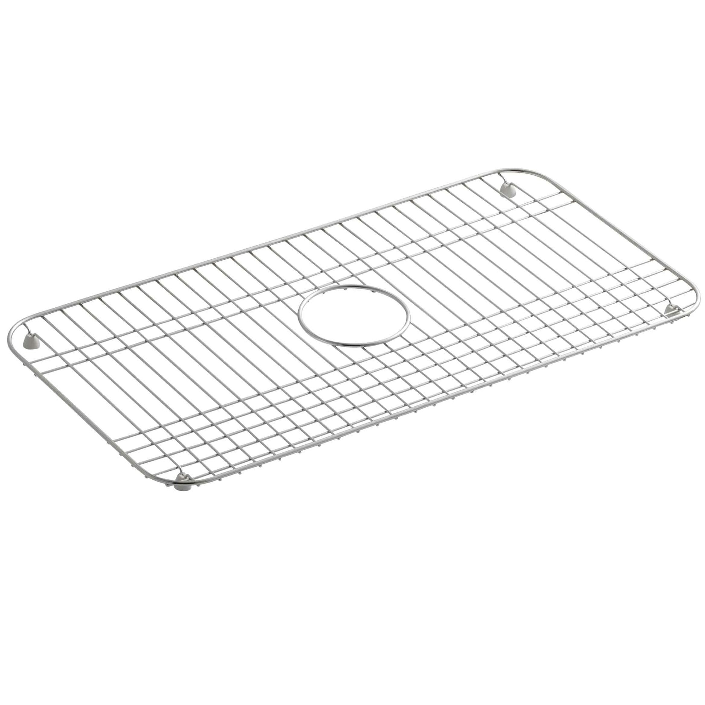 Sink grids youll love bakersfield stainless steel sink rack 25 x 12 34 workwithnaturefo