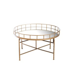 Ariella Mirrored Coffee Table by Statements by J