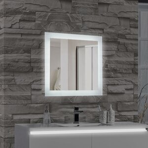 Encore LED Illuminated Bathroom Wall Mirror
