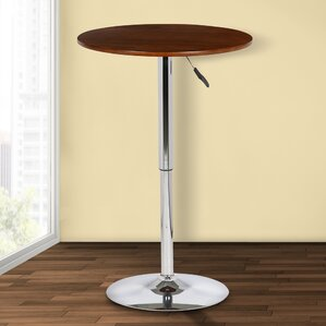 Brabham Adjustable Height Pub Table by Or..