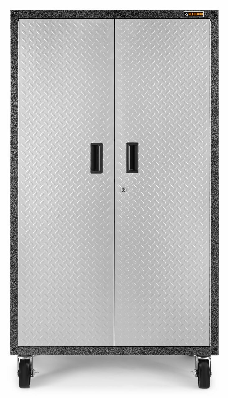 Gladiator Ready To Emble Mobile Storage Cabinet 66 H X 36 W 18 D Steel Reviews Wayfair