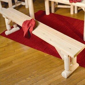 Cedar Bench by Rustic Natural Cedar Furni..