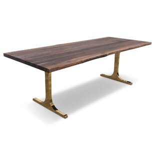 Amazing Eco Solid Walnut Slab Dining Table Pictures