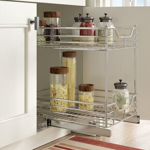 2 Tier Sliding Pull Out Drawer