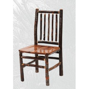 Hickory Spoke Back Side Chair by Fireside Lodge