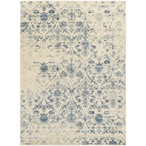 Shailene Blue/Cream Area Rug