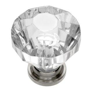 Lovely Crystal Palace Crystal Knob. By Hickory Hardware