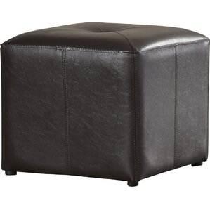 Holdren Cube Ottoman by Andover Mills