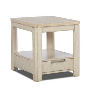 Crane End Table by Rosecliff Heights