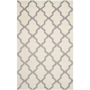 Sandra Hand Tufted Wool Ivory/Grey Rug by Mercer41