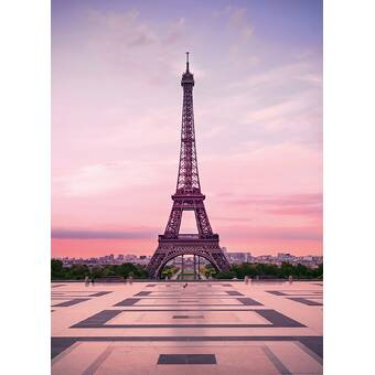 Collingwood Eiffel Tower At Sunset 8 33 L X 6 W 2 Panel Wall Mural
