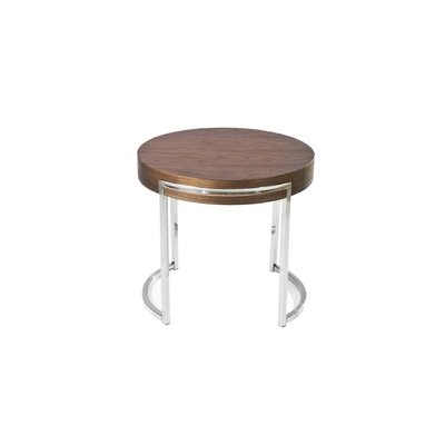 Modern Brown Square End Side Tables Allmodern