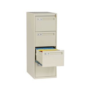 4 Drawer Vertical Legal Size File Cabinet
