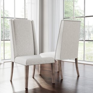 Averi Acacia Upholstered Dining Chair (Set of 2)