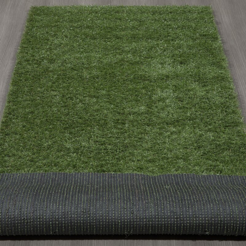 Ottomanson Garden Grass Green Indoor/Outdoor Area Rug & Reviews ...