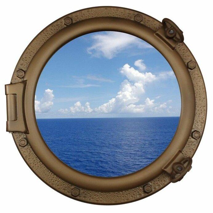 blue ship wholesale mirror navy model of decor porthole fresh